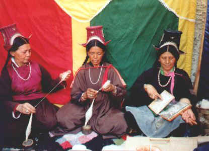 festival time at Women's Alliance of Ladakh