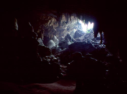 Thailand is full of limestone caverns!