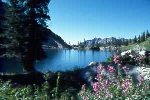 Red Pine Lake in Little Cottonwood Canyon