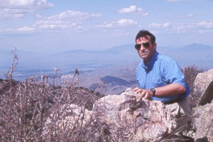 Bill atop Mt. Wrightson