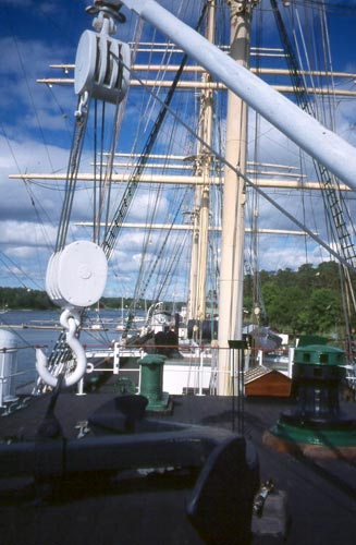 The Pommern celebrated 100 years afloat in 2003.